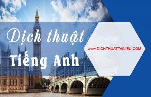 dịch tiếng anh tại Hà Nội