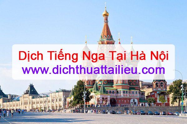 Dịch tiếng Nga tại Hà Nội